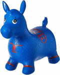 Jumping and Riding Horse Bouncing Horse Hopper Animal Toy for Kids with Double Quick Hand Air Pump