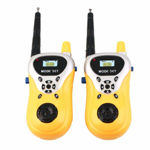 Kids Walkie Talkie with 2 Player System Toy Interphone. with Extendable Antenna for Extra Range Upto 100 Meters, (Colour Yellow)