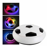 Magic Air Soccer Hover Football Toy Play Game for Kids' Above Age 2 Years (Multicolor) (Hover Football)