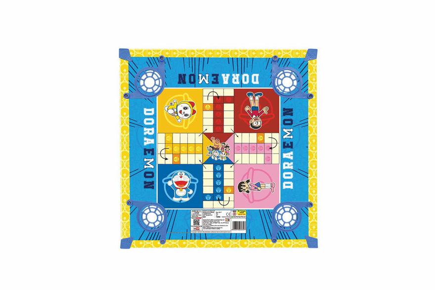 Disney Doraemon Carrom Board Set for Kids, Boys & Girls (20x20 Inch), Age 3 to 8 Years