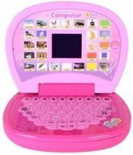 Educational Computer ABC and 123 Learning Kids Laptop with LED Display and Music