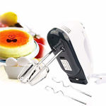 Picture of Cartburg Electric Hand Mixer Easy Mix-300W with 7 Speed Control & Detachable Stainless-Steel Finish Beater & Whisker.