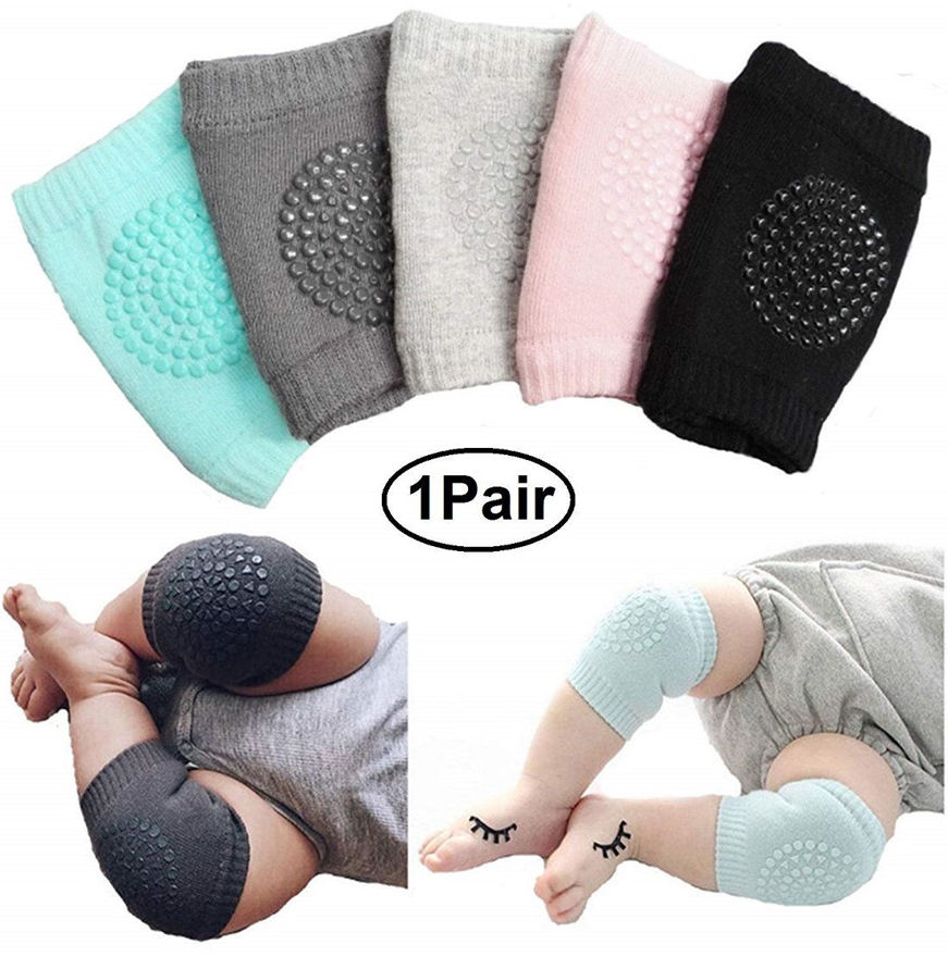 Picture of Baby's Cotton Crawling Anti Slip Knee Pads (FREE SIZE)