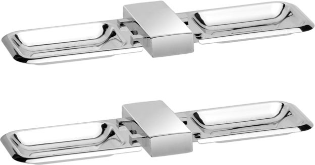 Picture of Set of 2 pieces 304-Stainless steel Double Soap Dish -