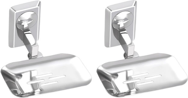 Picture of Set of 2 pieces Stainless Steel soap Dish - Omni Series