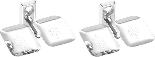 Picture of Set of 2 pieces Stainless steel Double Soap Dish - Omni Series