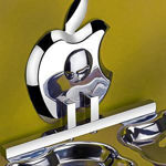 Picture of 304-Stainless Steel Double Soap Dish-Apple Series
