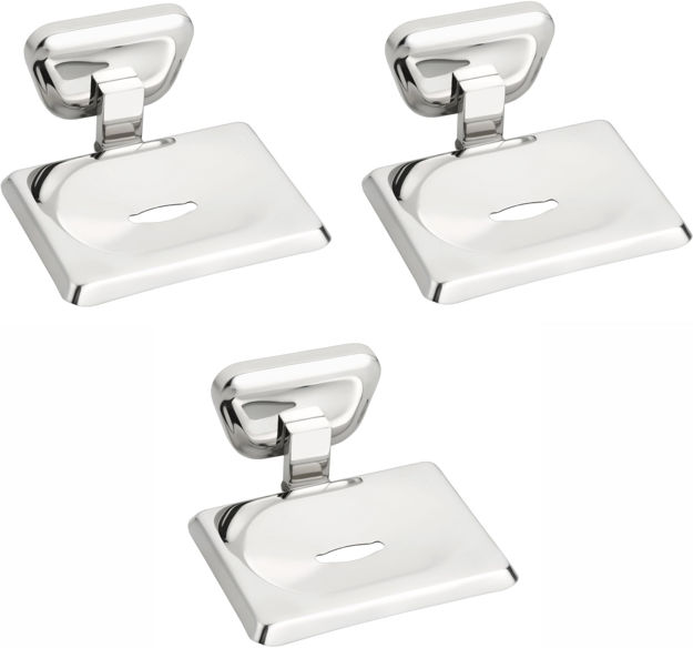 Picture of Set of 3 pieces Stainless Steel Soap Dish -