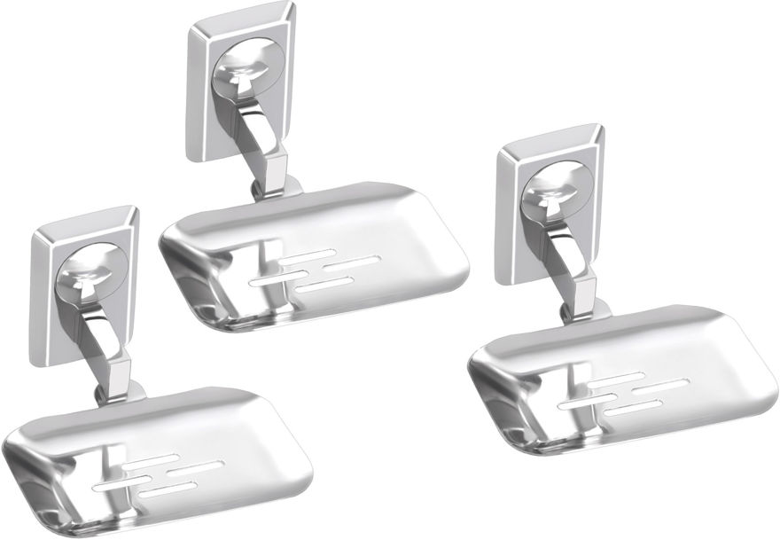 Picture of Set of 3 Pieces Stainless Steel soap Dish - Omni Series