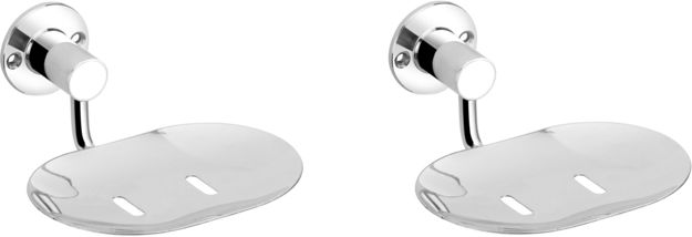 Picture of Set of 2 pieces Stainless steel heavy Soap Dish
