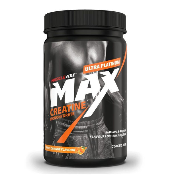Picture of Creatin Monohydrate 0.44lbs (200gm) Orange Flavour