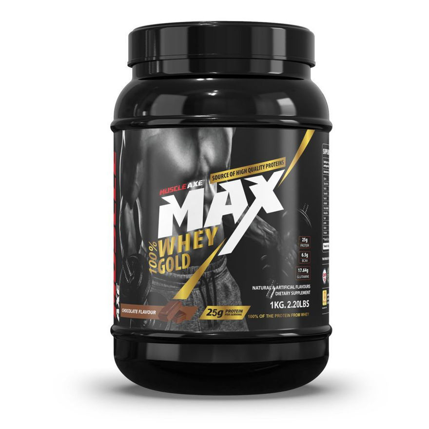 Picture of Whey Gold Protein|2.20lbs (1kg)|Chocolate Flavour