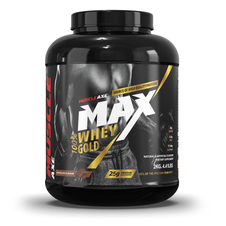 Picture of Whey Gold Protein|4.41lbs (2kg)|Chocolate Flavour