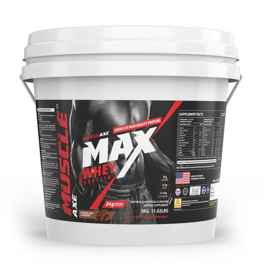 Picture of Whey Protein|11.02lbs (5kg)|Chocolate Flavour