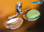 Picture of 304 Stainless Steel Chrome Finish Double Soap Dish Soap Case Soap Holder Double Soap Stands Bathroom Accessories Anti Rust CM