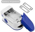 Picture of Oximeter Fingertip, Blood Oxygen Saturation Monitor Fingertip, Blood Oxygen Meter Finger Oximeter Finger with Pulse, O2 Monitor Oxygen Monitor, Heart rate Monitor, SpO2 PR pulse Oximeter