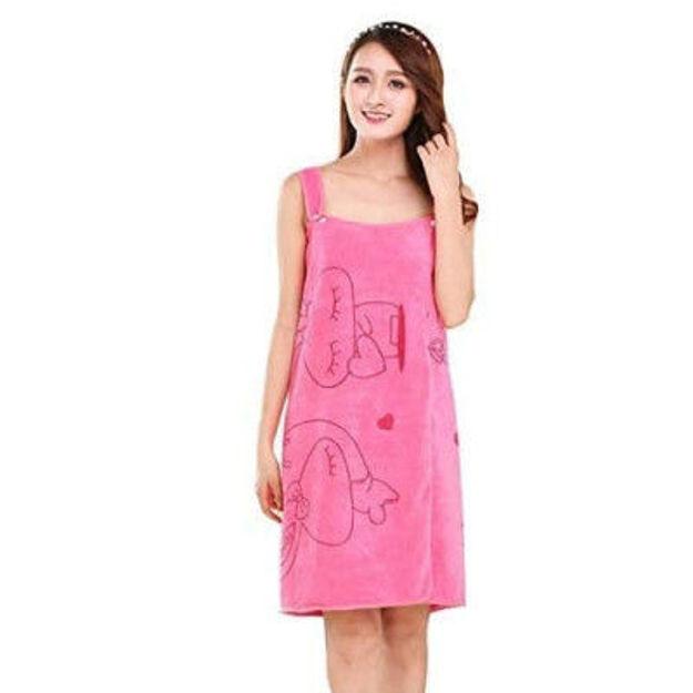 Picture of Wearable bath Towel Women's Lady