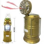 Picture of Mini Fan Solar Camping Lamp