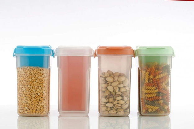 Picture of 2 In 1 Jar With 2 Section (Set Of 2)