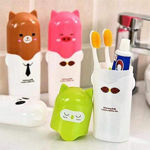 Picture of Cute Animal Design Travel Toothbrush Toothpast Holder