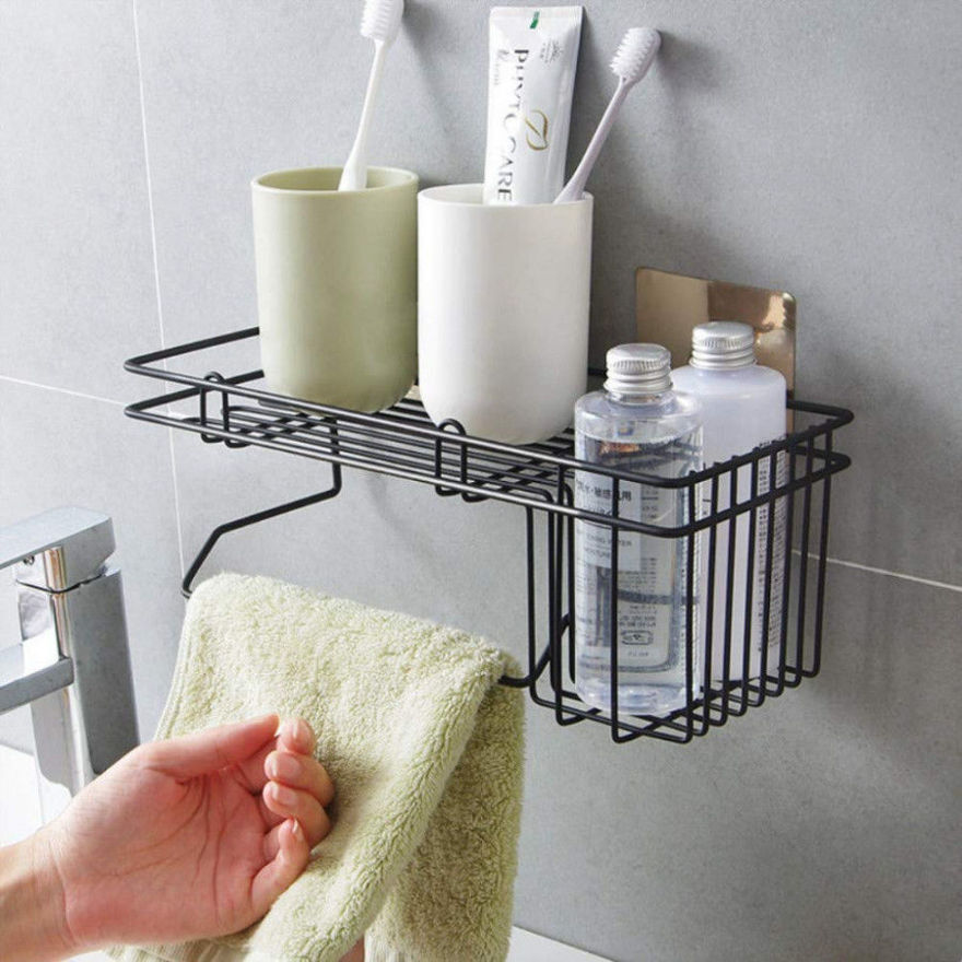 Picture of Bathroom Shower Caddy Rack Organizer