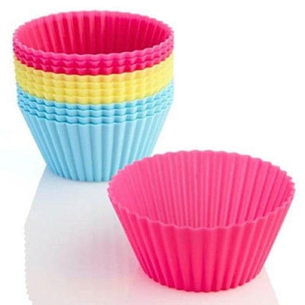 Picture of Silicon Cupcake Moulds ( Set Of 6)