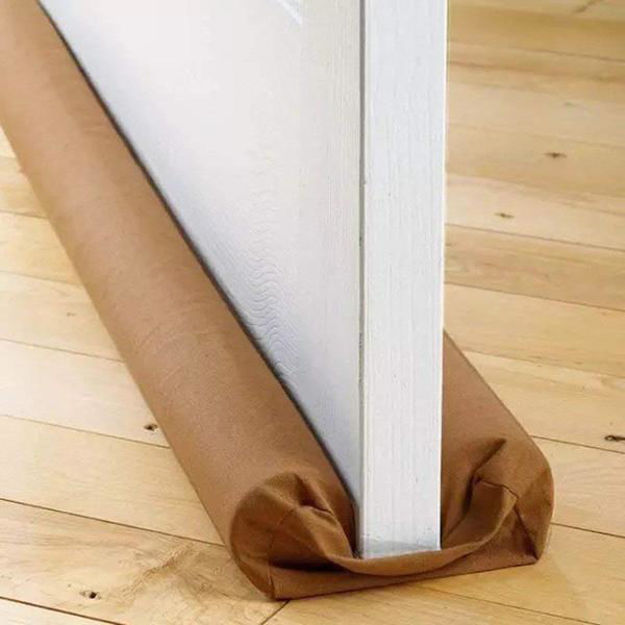 Picture of Twin Door Draft Stopper/Guard Protector for Doors and Windows
