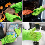 Picture of Silicone Anti-scald Glove Microwave Oven Mitts Pot Holder