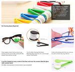 Picture of Microfiber Portable Eyeglass Lens Cleaner Brush
