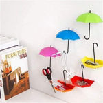 Picture of 3 Pc Umbrella Shaped Hook Key Holder