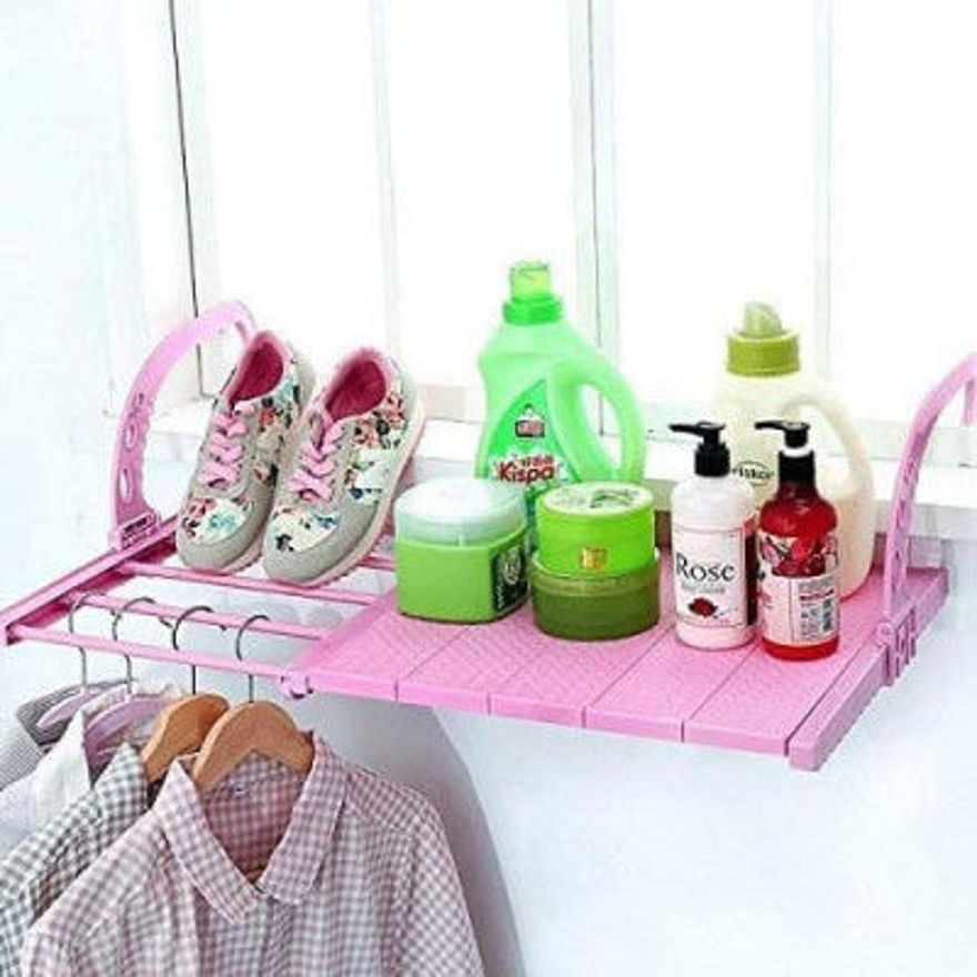 Picture of Balcony Drying Rack Towel Holder
