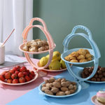 Picture of Foldable Fruit Plate Candy Dish