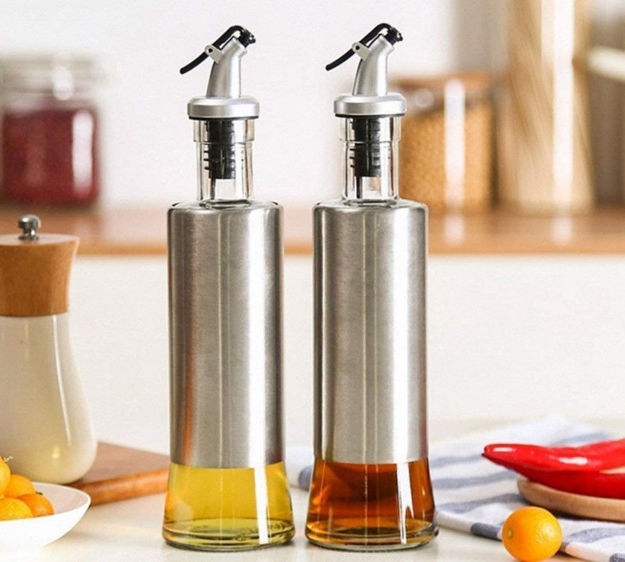 Picture of Cruet Oil Dispenser Bottle (500 Ml) (Single Pc)