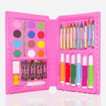 Picture of Art And Craft Color Kit (Crayons, Water Color, Sketch Pens)-42pcs