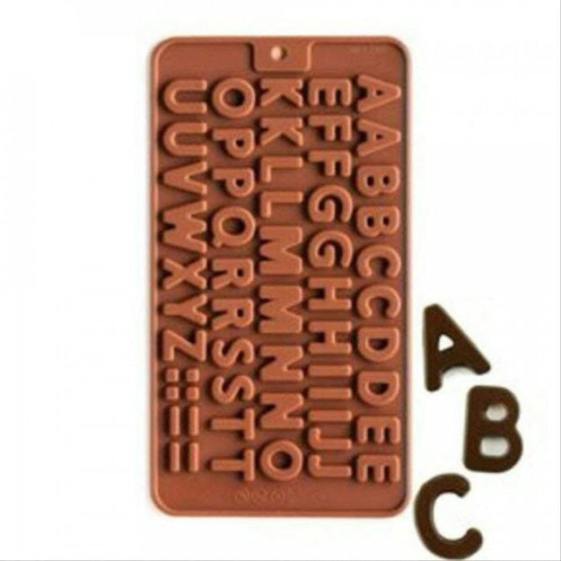 Picture of Abcd Chocolate Mould