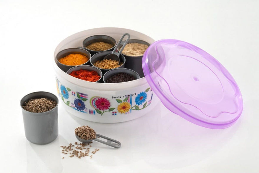 Picture of Round Spice Box