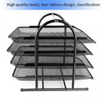 Picture of 4 Tier Metal Mesh File