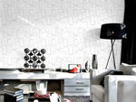 Picture of White And Silver Wallpaper ( 3 )