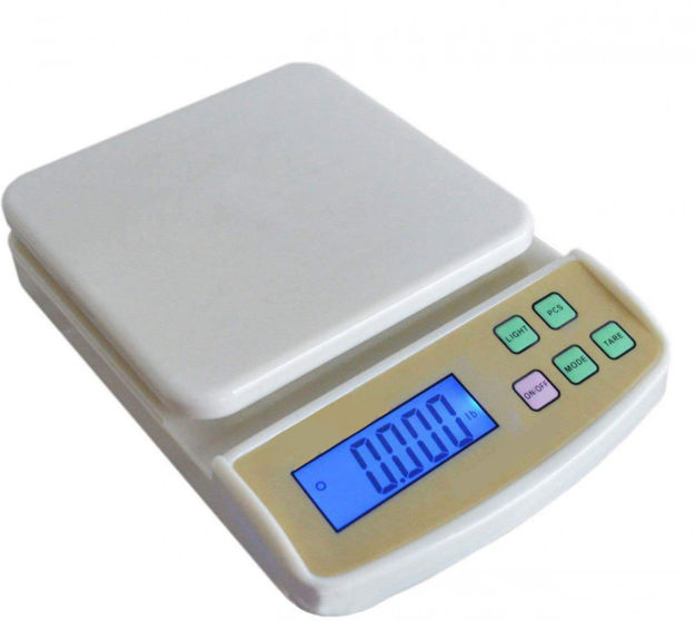 Picture of Electronic Kitchen Digital Weighing Scale Multipurpose 10 Kg (SF-400A)