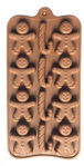 Picture of 12 Cavity Christmas Design Shape Chocolate Mold