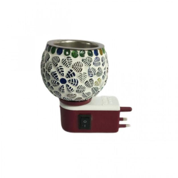Picture of Ceramic ( 14 ) Platinum Aroma Burner Kapoor Dani