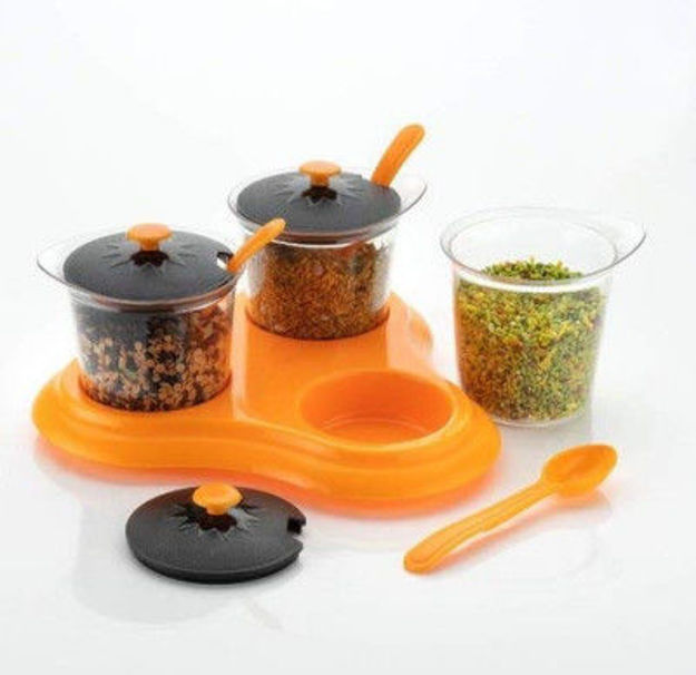 Picture of 3 Pc Dining Spice Rack