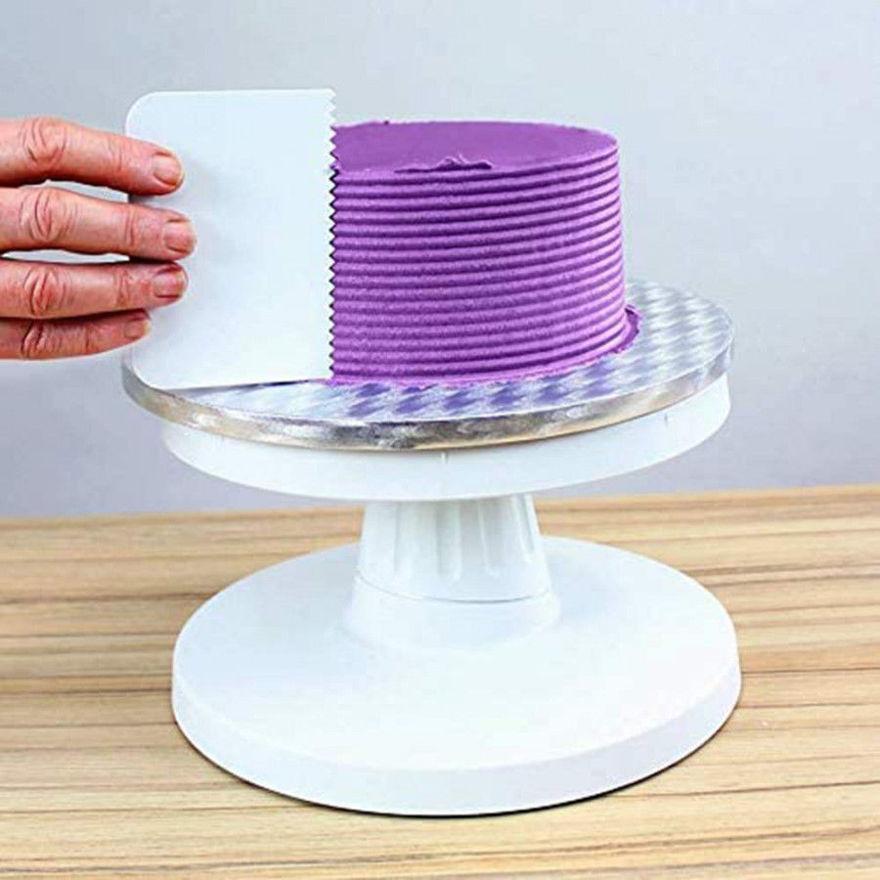 Picture of 4 Pc Cake Scrapper