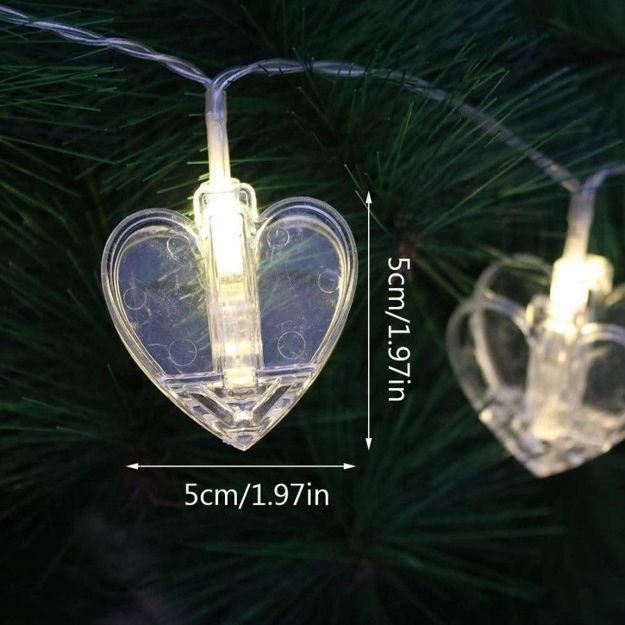 Picture of Heart Shape Led Light (10 Pcs)