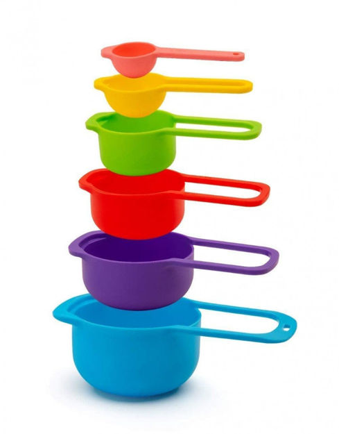 Picture of 6 Pc Plastic Spoon Set