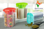 Picture of Transparent 4 Section Container Storage Dispender 2000 Ml
