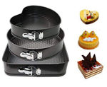 Picture of 3 Shape Cake Mould ( Heart, Square, Round )