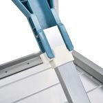 Picture of Aluminium Folding Picnic Table With Umbrella