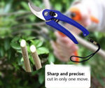 Picture of Garden Shears Pruners Scissor Flower Cutter with Safety Lock Best Gardening Tool