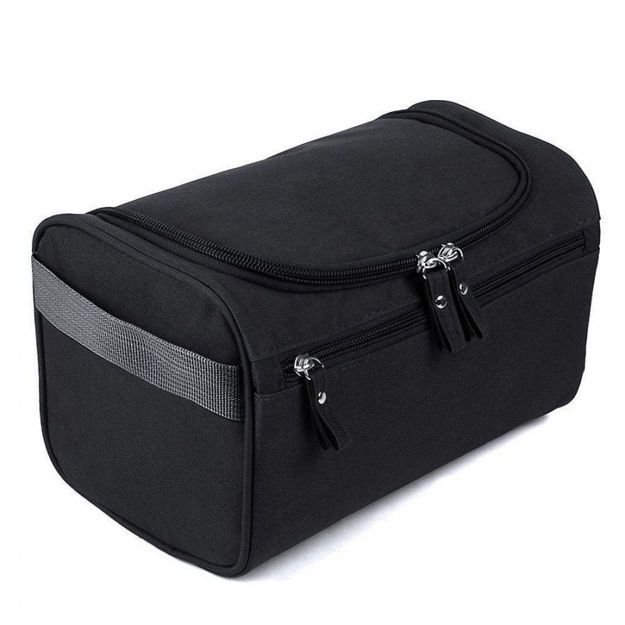 Picture of Hanging Fabric Travel Toiletry Bag
